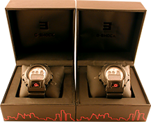 2 Shady Edition G-Shock Watches